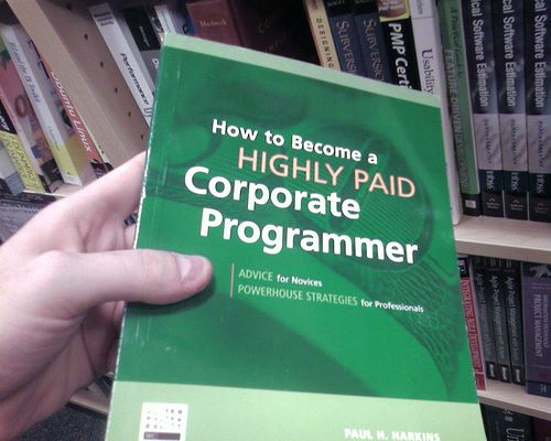 How to Become a Highly Paid Corporate Programmer (Photo by seizethedave)