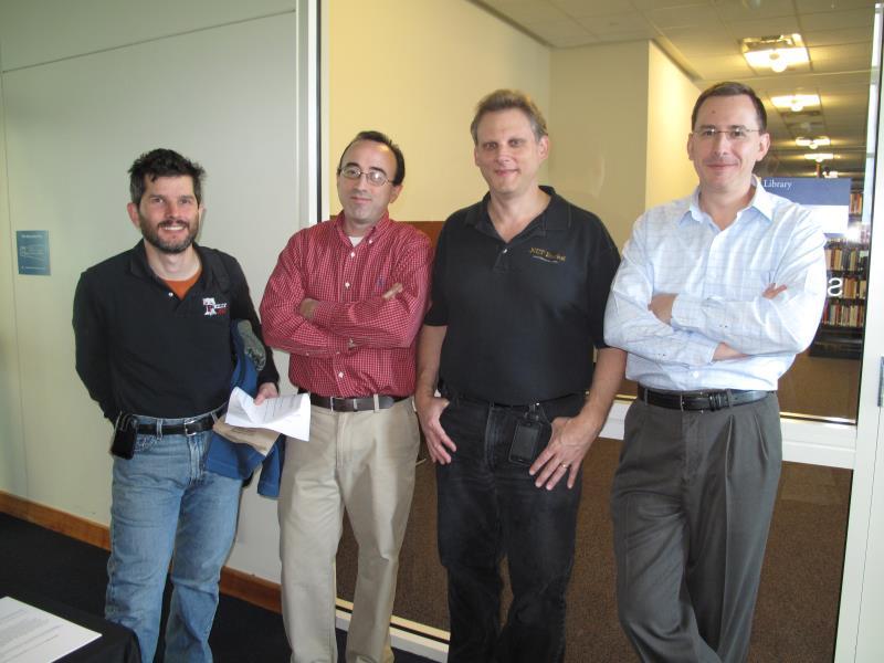 Ned Ames, Leo Junquera, Mark Freedman and Milan Negovan