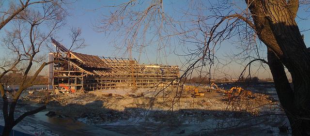 Remnants of Shea Stadium
