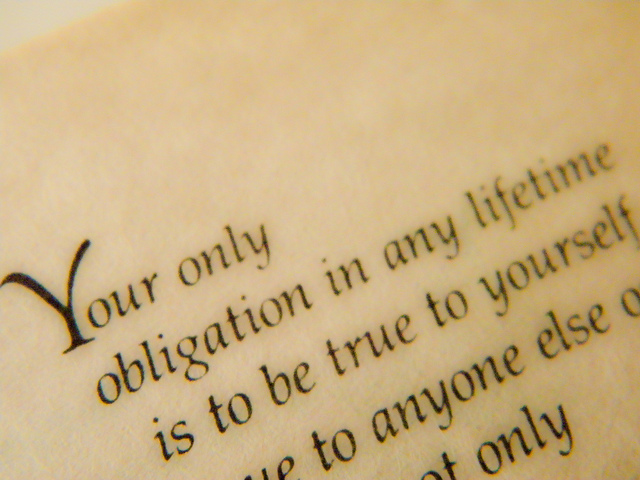 """Stuck"" in Management, Cause #1: Obligation"